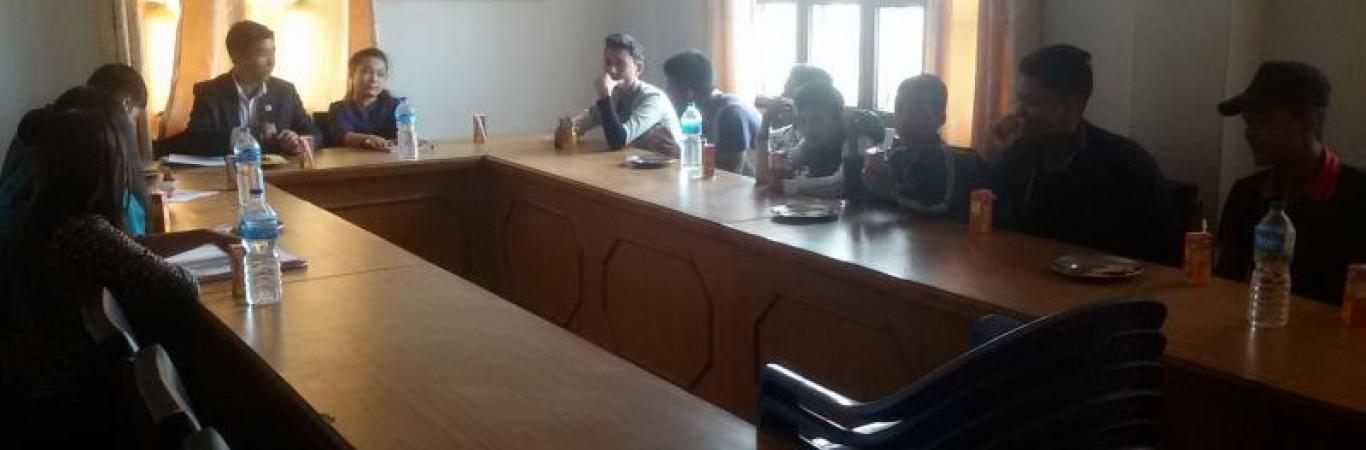 नगर बाल सन्जाल समितिको बैठक
